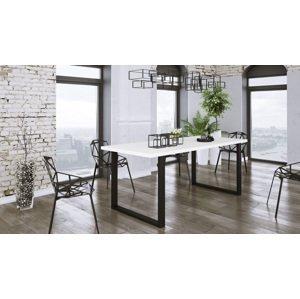 Moderní jídelní stůl Barbora 138x90cm, bílý