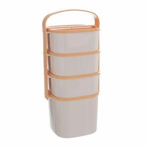 ORION domácí potřeby Jídlonosič plast 2 l+3x1,15 l ALMI plus