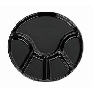 Kela Fondue talíř ANNELI černá 23 cm KELA KL-67404