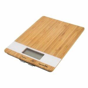 ORION domácí potřeby Váha kuch. digi. bambus 5 kg WHITELINE