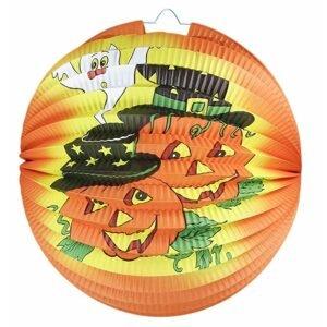 RAPPA Lampion Halloween - veselé dýně, 25 cm