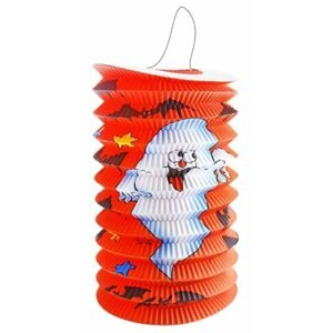 RAPPA Lampion s duchem Halloween 15 cm