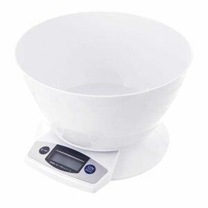 ORION domácí potřeby Kuchyňská váha digitální s miskou 5 kg