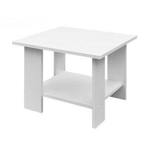 Konferenční stolek Lena, bílý