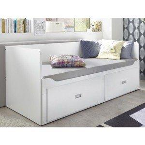 Rozkládací postel se zásuvkami Bergen 80x200 cm