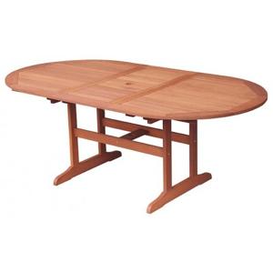 Rozkládací zahradní stůl Oval 152x107 cm