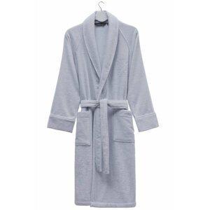 Soft Cotton Modalový župan DELUXE pro muže i ženy Světle modrá S