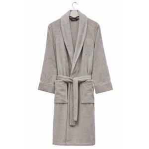 Soft Cotton Modalový župan DELUXE pro muže i ženy Světle šedá XL