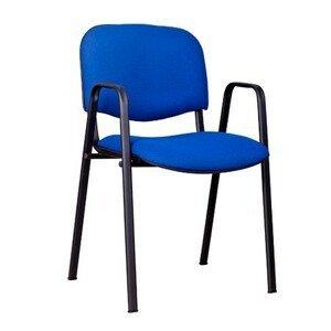 Konferenční židle ISO s područkami C4 béžovo/hnědá