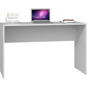 Počítačový stůl PLUS - bílá