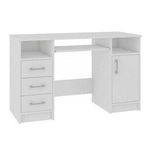 Počítačový stůl Ana bílá