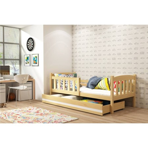 Dětská postel KUBUS 160x80 cm Borovice