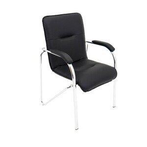 Konferenční židle Samba Tmavě hnědá