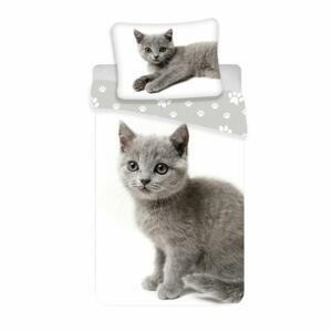 Bavlněné povlečení, Kočička šedá