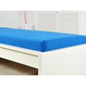 B.E.S. - Petrovice, s.r.o. Prostěradlo Froté PERFECT 140-160x200 cm - Královská modrá
