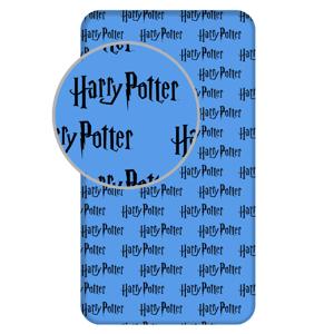 """Jerry Fabrics Pružné napínací prostěradlo bavlna Harry Potter """"111HP"""" 90x200 + 25cm"""