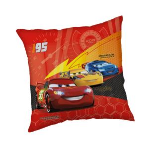 """Jerry Fabrics Dekorační polštářek 40x40 cm - Cars """"Red 02"""""""