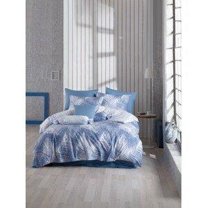 TipTrade Bavlněné povlečení 140x200 + 70x90 cm - Havai modré