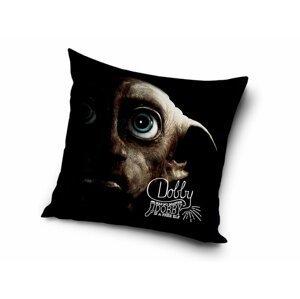 Carbotex Dekorační polštářek 40x40 cm - Harry Potter Skřítek Dobby
