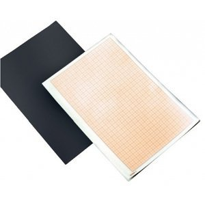 Milimetrový papír v bloku A4 LENIAR - 25 listů