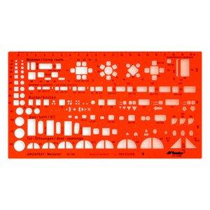 Technická šablona architektonická - malé symboly