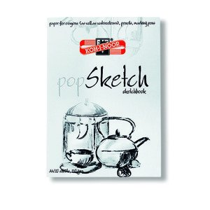 Skicovací blok POP SKETCH KOH-I-NOOR A4/A3