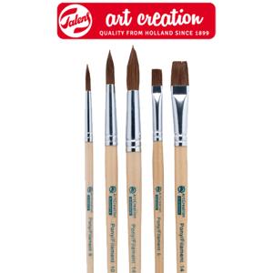 Štětce ArtCreation pro akvarelové malbu - 5 dílná sada