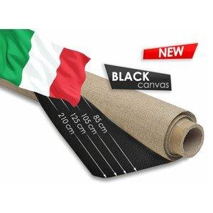 Černé malířské plátno v rolce 25 metrů / různé šířky