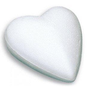 Polystyrenové srdce - různé šířky