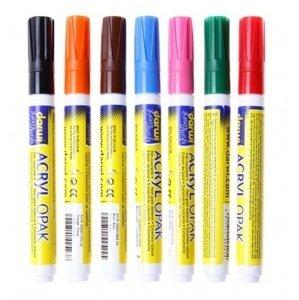 ACRYL akrylová univerzální fixa hrubá 3mm / 6 ml - různé odstíny