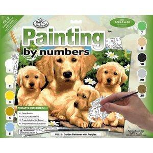 Kreativní set na malování A3 - pejsky