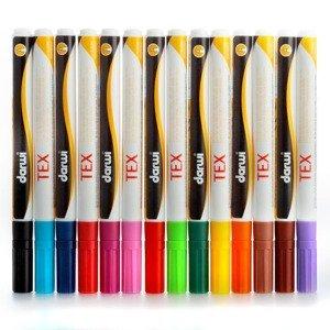 DARWI TEX Fixy na textil tenké 3 ml / různé odstíny