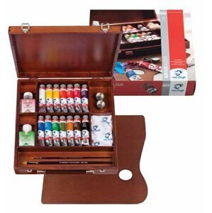 Akrylové barvy Van Gogh Inspiration Box / 14x40ml + příslušenství