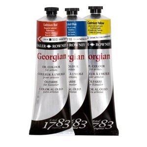 Olejová barva Daler-Rowney Georgian 75 ml / různé odstíny