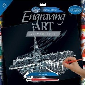 Kreativní set na engraving A3 - Paříž