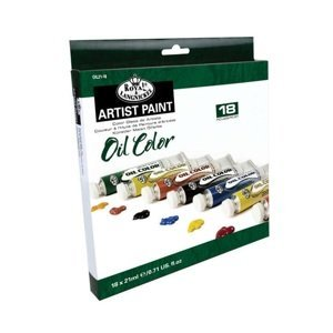 Sada olejových barev Royal & Langnickel / 18x21 ml