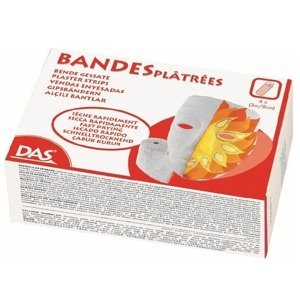 Modelovací pásky DAS Plaster Strips / 4x 3m / 8cm