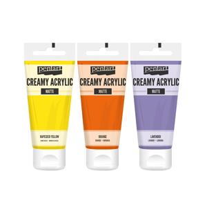 Krémová akrylová barva matná Pentart 60 ml / různé odstíny