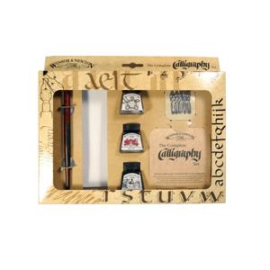 Winsor & Newton kaligrafický set / 11 dílný