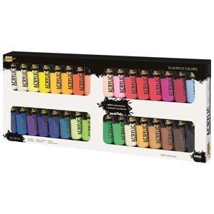 Akrylové barvy Solo Goya / set 32 x 20 ml