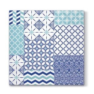 Ubrousky na dekupáž - Marocké vzory - 1 ks (ubrousky na dekupáž)