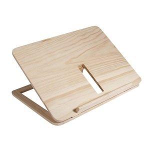 Dřevěný stojan na tablet a knihu 28 x 21 x 3.4 cm (dřevěné polotovary na)