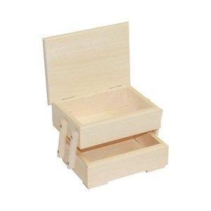 Dřevěný organizér na bižuterii malý (dřevěné komponenty na dekorování)