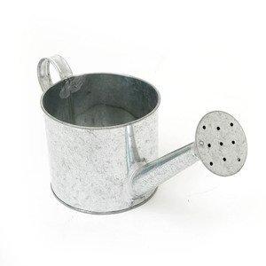 Kovová konvička 13x11 cm (zinková nádoba)