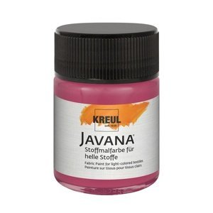 Barva na světlý textil JAVANA 50 ml (hobby barvy)