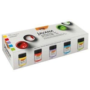 Sada barev na světlý textil JAVANA 5x50 ml (hobby barvy)