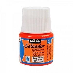 Barva na textil Pebeo Setacolor Light 45 ml (malování na textil)