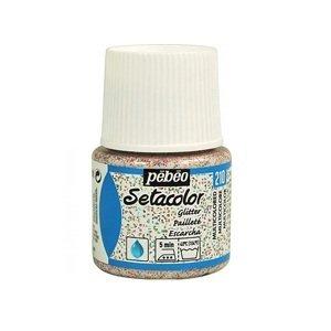 Barva na textil Pebeo Setacolor Glitter 45 ml (malování na textil)