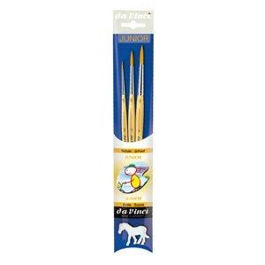 Sada štětců da Vinci JUNIOR 4212 pro školy a hobby - 3 ks (štětce pro)