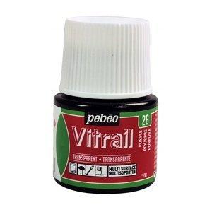 Barva na sklo PEBEO Vitrail 45 ml (malování na sklo)